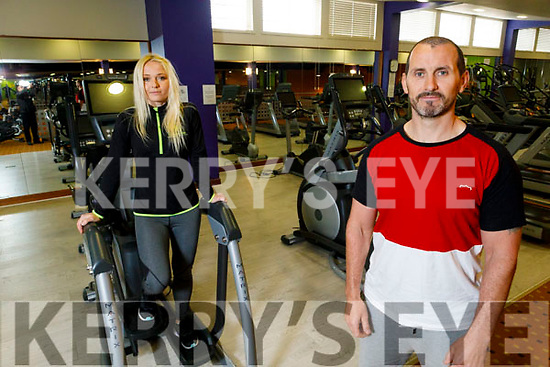 The Brandon Gym in Tralee set to reopen.<br /> Front right: Graig Clifford standing with Monika Starosz