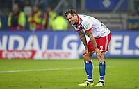 20.09.2017, Football 1. Bundesliga 2017/2018, 5.  match day, Hamburger SV - Borussia Dortmund, Volksparkstadium Hamburg. Dennis Diekmeier (Hamburg) enttaeuscht  *** Local Caption *** © pixathlon<br /> <br /> +++ NED + SUI out !!! +++<br /> Contact: +49-40-22 63 02 60 , info@pixathlon.de
