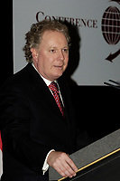 Jean Charest, Quebec Premier speak at the  12th International Economic Forum of the Americas<br />                            Conference of Montreal<br /> Photo by Michel Karpoff / Images Distribution