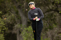 STANFORD, CA - APRIL 25: Amanda Linner at Stanford Golf Course on April 25, 2021 in Stanford, California.