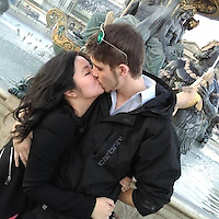 """Pictured: Jordan Matthews with girlfriend Xixi Bi, image taken from open social media site<br /> Re: A man called 999 after allegedly beating his girlfriend to death saying he had been """"really, really horrible"""" to her, a court heard.<br /> Jordan Matthews, of Ely Road, Cardiff, is accused of murdering his girlfriend of 16 months, Xixi Bi.<br /> Cardiff Crown Court heard Miss Bi, 24, had a broken jaw, ribs and widespread bruising following the attack in August 2016.<br /> Mr Matthews, 24, admits manslaughter but denies murder.<br /> Paul Lewis, QC, prosecuting, said it was a """"vicious, sustained and prolonged attack"""".<br /> A 999 call made by Mr Matthews at 08:00 GMT on 19 August 2016 was played in court, in which he said the pair had bickered the night before and he had hit her.<br /> He told the operator he had been """"really, really horrible"""" to Miss Bi and she was now struggling to breathe, that he had done CPR on her and she was responding."""