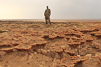the Dallol is one of the most beautiful place in the world. But it is also one of the most difficult; it's the hottest point( over 50°c) and dangerus for the bandits and kidnappers. That's reason the Ethiopon Army cover the territory.