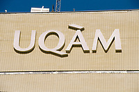 1999 File Photo - Montreal (qc) CANADA -  UQAM New pavillion on President-Kennedy street