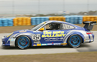 #65 Porsche, GT Class winner, the Grand Prix od Miami at Homestead-Miami Speedway on Saturday, March 5, 2005.(Grand American Road Racing Photo by Brian Cleary)