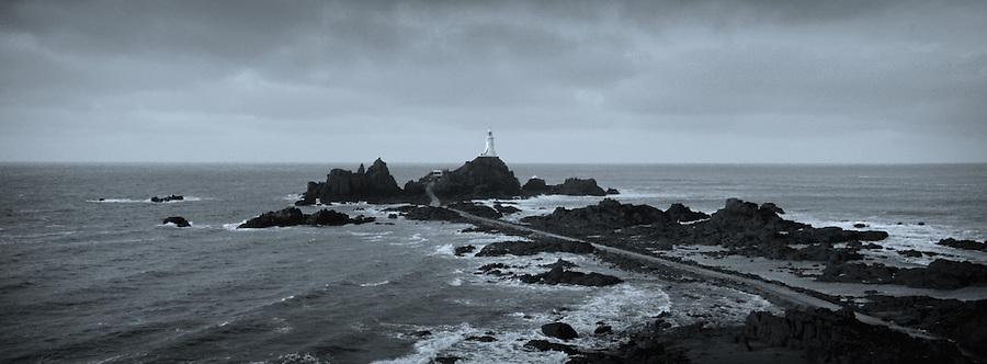 La Corbière Lighthouse, Jersey, Channel Islands.
