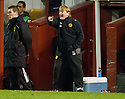 MOTHERWELL MANAGER STUART MCCALL ...17/12/2011 sct_jsp015_motherwell_v_st_mirren     .Copyright  Pic : James Stewart.James Stewart Photography 19 Carronlea Drive, Falkirk. FK2 8DN      Vat Reg No. 607 6932 25.Telephone      : +44 (0)1324 570291 .Mobile              : +44 (0)7721 416997.E-mail  :  jim@jspa.co.uk.If you require further information then contact Jim Stewart on any of the numbers above.........