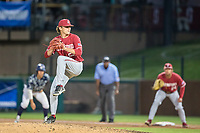 STANFORD, CA - JUNE 6: Joey Dixon during a game between UC Irvine and Stanford Baseball at Sunken Diamond on June 6, 2021 in Stanford, California.