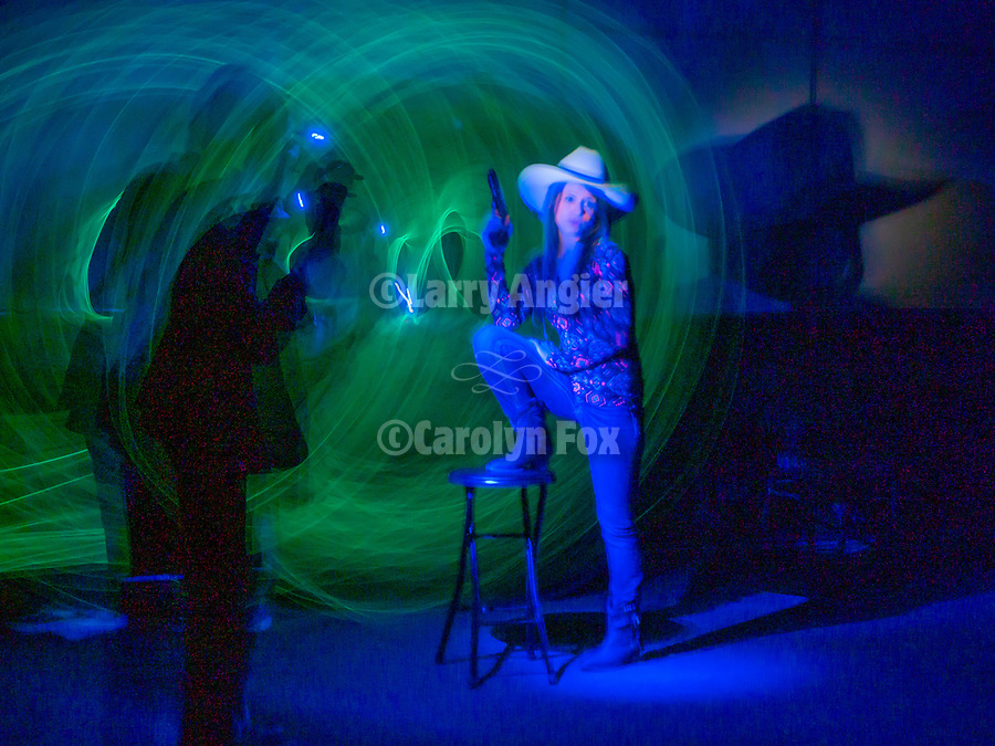 Light Painting with Tom Bol at Shooting the West XXX, Winnemucca, Nevada.<br /> <br /> #ShootingTheWest XXX, #WinnemuccaNevada,  #TomBolPhoto, #LightPainting