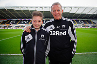 Sunday, 23 November 2012<br /> <br /> Pictured: Alan Curtis<br /> <br /> Re: Barclays Premier League, Swansea City FC v Manchester United at the Liberty Stadium, south Wales.
