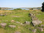 Stone Ruins of Ancient Monastery on the Island of Kökar, Åland, Finland