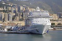 - porto di  Genova, navi da crociera<br /> <br /> - Genoa port, cruise ships