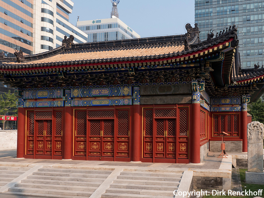Stadtgott-Tempel in Peking, China, Asien<br /> City God-temple, Beijing, China, Asia