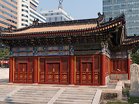 Stadtgott-Tempel in Peking, China, Asien<br /> City God-temple, Beijing, China, Asia