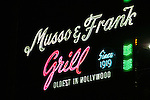 Musso & Frank Grill, Hollywood, Los Angeles, CA