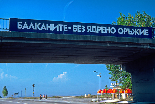 The Balkans - No Nuclear Weapons; on the road to Yugoslavia