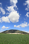 Israel, Mount Tabor in Jezreel valley