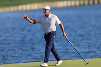 14th March 2021; Ponte Vedra Beach, Florida, USA;  Bryson DeChambeau of the United States walks off the 18th hole finishing 3rd in the final round of THE PLAYERS Championship on March 14, 2021 at TPC Sawgrass Stadium Course in Ponte Vedra Beach, Fl.