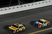 #20: Erik Jones, Joe Gibbs Racing, Toyota Camry DeWalt, #18: Kyle Busch, Joe Gibbs Racing, Toyota Camry M&M's