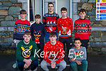 St Brendan's College students who participated in the Killarney schools Christmas jumper day on Friday front row L-r Ben Flavin, Peter Walsh, Tag Wubeshet. Back row: Harry Bloger, Oisin Fleming, Kacper Bogalecki, Darragh O'Shea, Timothy Moynihan