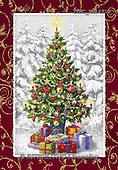 Marcello, CHRISTMAS SYMBOLS, WEIHNACHTEN SYMBOLE, NAVIDAD SÍMBOLOS, paintings+++++,ITMCXM1491B,#XX# ,Christmas tree,