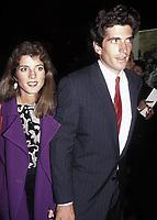 John Kennedy, Jr Caroline Kennedy 1989<br /> Photo by Adam Scull/PHOTOlink