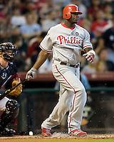 Howard, Ryan 5645.jpg Philadelphia Phillies at Houston Astros. Major League Baseball. September 6th, 2009 at Minute Maid Park in Houston, Texas. Photo by Andrew Woolley.
