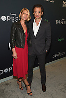 """NEW YORK CITY - OCTOBER 4: Claire Danes and Hugh Dancy attends the red carpet premiere of Hulu's """"DOPESICK"""" at the Museum of Modern Art on October 4, 2021 in New York City. . (Photo by Frank Micelotta/Hulu/PictureGroup)"""