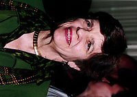 Montreal, 1999-06-01 Archive. The Vice Chair of the Board of Governors of the (United States) Federal Reserve System ;  Alice M. Rivlin was one of the guest speakers at the Fifth edition of ``the Conference of Montreal`` on economy globalization. Previously Director of the White House Office of Management and Budget and Founding Director of the Congressional Budget Office, she is the recipient of a MacArthur Foundation Prize, she has taught at Harvard and George Mason Universities, contributes frequently to the periodal press and has written many books.<br /> Photo : (c) Pierre Roussel, 1999<br /> KEYWORDS :  Alice Rivlin, Federal Reserve, Conference, Montreal, Economy