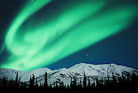 Northern Lights, Aurora Borealis, Endicott Mountains, Brooks Range, Alaska