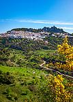 Spanien, Andalusien, Provinz Málaga, Costa del Sol, Gaucin: weisses Dorf am Fusse der Sierra Bermeja | Spain, Andalusia, Province Málaga, Costa del Sol, Gaucin: pueblo blanco at Sierra Bermeja mountains
