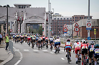 rolling out of Antwerpen <br /> <br /> Women Elite - Road Race (WC)<br /> from Antwerp to Leuven (158km)<br /> <br /> UCI Road World Championships - Flanders Belgium 2021<br /> <br /> ©kramon