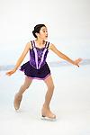 Manhung Yan of Hong Kong competes during the Asian Junior Figure Skating Challenge Hong Kong 2016 at Kowloon Tong's Festival Walk Glacier on 03 October 2016, in Hong Kong, China. Photo by Marcio Machado / Power Sport Images