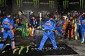 Monster Energy NASCAR Cup Series<br /> Monster Energy NASCAR All-Star Race<br /> Charlotte Motor Speedway, Concord, NC USA<br /> Saturday 20 May 2017<br /> Kyle Busch, Joe Gibbs Racing, M&M's Caramel Toyota Camry wins.<br /> World Copyright: Rusty Jarrett<br /> LAT Images<br /> ref: Digital Image 17CLT1rj_4321