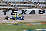 Josef Newgarden (67) in action during qualifying for the IZOD Indycar Firestone 550 race at Texas Motor Speedway in Fort Worth,Texas.