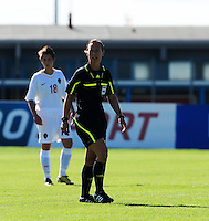 European Women's Under - 19 Championship 2011 Italy :.Switzerland - Belgium U19 : Pernilla Larsson.foto DAVID CATRY / VROUWENTEAM.BE