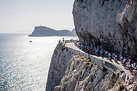 riding next to the Mediterranean <br /> <br /> 110th Milano-Sanremo 2019 (ITA)<br /> One day race from Milano to Sanremo (291km)<br /> <br /> ©kramon