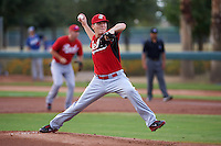 Cincinnati Reds pitcher Nick Howard (37) during an instructional league game against the Los Angeles Dodgers on October 20, 2015 at Cameblack Ranch in Glendale, Arizona.  (Mike Janes/Four Seam Images)