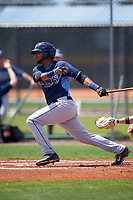 Tampa Bay Rays Rafelin Lorenzo (89) during a minor league Spring Training game against the Boston Red Sox on March 23, 2016 at Charlotte Sports Park in Port Charlotte, Florida.  (Mike Janes/Four Seam Images)