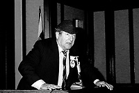 Montreal, CANADA - File Photo - Jean-Pierre Masson in 1985<br /> <br /> Photo : Agence Quebec Presse  - Pierre Roussel