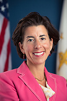 Governor Gina Raimondo (Democrat of Rhode Island), who United States President-elect Joe Biden announced will be nominated as US Secretary of Commerce at the Queen Theatre in Wilmington, Delaware on Friday, January 8, 2021. <br /> Credit: Biden Transition via CNP /MediaPunch