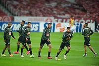 22nd August 2020; Estadio Beira Rio, Porto Alegre, Brazil; Brazilian Serie A, Internacional versus Atletico Mineiro; Réver of Atletico Mineiro during warm-up