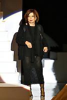 Roma 26/1/2004 <br /> Alta Moda Roma - Haute Couture - Fashion<br /> Dress collection of stylist Mariella Burani. <br /> In this picture the stylist Mariella Burani<br /> Foto Andrea Staccioli Insidefoto