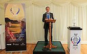 Stephen Gethins MP Co-Chair of the All-Party Parliamentary Group for Golf hosted a reception on behalf of Visit Scotland celebrating – The Solheim Cup – A Year to Go – at the House of Commons Thames Pavilion. Catriona Matthew, European Solheim Cup Captain was in attendance.<br />  Picture Stuart Adams, www.golftourimages.com: \05/09/2018\