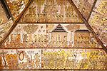 Wayang Malerei, Kerta Gosah (Gerichtshalle), Semarapura (Klungkung), Bali