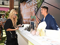 LOS ANGELES - SEPT 10: Rachel Zoe checks out the Smudge Wellness crystals display at  Hulu's 'Nine Perfect Strangers' wellness pop-up at the Westfield Century City Mall on September 10, 2021 in Los Angeles, California. (Photo by Frank Micelotta/Hulu/PictureGroup)