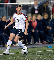 Heather O'Reilly. The US Women's National Team defeated the Canadian Women's National Team, 4-0, at BMO Field in Toronto during an international friendly soccer match on May 25, 2009.