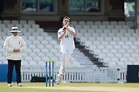 Scott Currie, Hampshire CCC took the early wicket of Ben Foakes during Surrey CCC vs Hampshire CCC, LV Insurance County Championship Group 2 Cricket at the Kia Oval on 1st May 2021