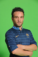 Mathieu Valbuena  .29/5/2012 .Calcio Foto Ufficiali Francia Euro2012.Foto Insidefoto / Anthony Bibard / FEP/ Panoramic ITALY ONLY