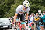 Spanish Champion Luis León Sanchez (ESP) Astana Pro Team climbs Col de Marie Blanque during Stage 9 of Tour de France 2020, running 153km from Pau to Laruns, France. 6th September 2020. <br /> Picture: Colin Flockton   Cyclefile<br /> All photos usage must carry mandatory copyright credit (© Cyclefile   Colin Flockton)