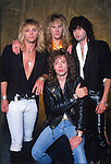 Various portraits of the rock band,  Fifth Angel